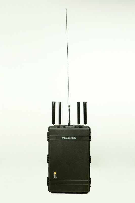 20 - 2700Mhz Portable Mobile Signal Jammer , EOD Cell Phone Signal Blocker Device
